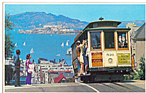 Hyde Street Cable Car San Francisco Ca P30049