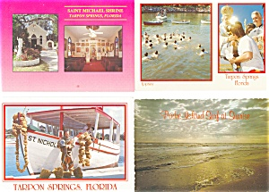 Florida Postcard Lot Of 10 P3005
