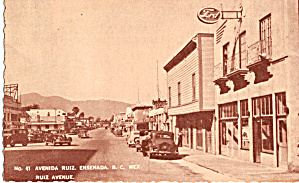 Ruiz Avenue, Ensenada. Mexico (Image1)