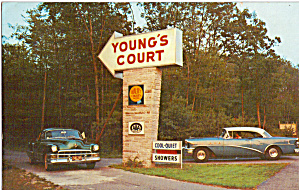 Youngs Motor Court Westport MA Buick and Caddy p30151 (Image1)
