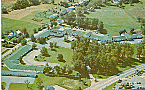 Colonial Motor Lodge Denver Pa Postcard P30152