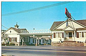 Laurel Motel Somerset PA Postcard p30153 (Image1)