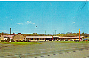 Tenny Town Motel Bloomsburg PA Postcard p30154 (Image1)