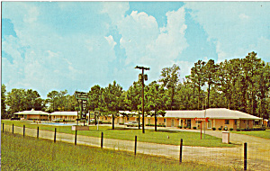 Town And Country Motel Fayetteville Nc Postcard P30161