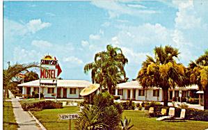 Fred s Sunnyside Motel Sarasota FL Postcard p30167 (Image1)