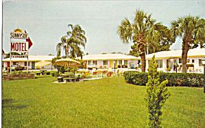 Sunnyside Motel Sarasota FL Postcard p30169 (Image1)