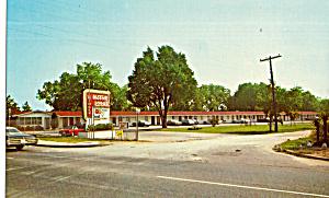 Circle Motor Lodge Pensacola FL Postcard p30170 (Image1)