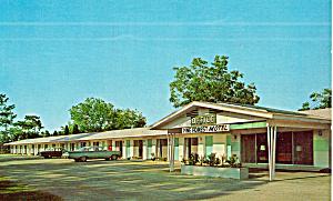 Pine Forest Motel Yulee FL Postcard p30172 (Image1)