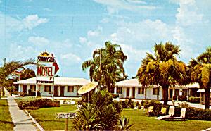 Fred s Sunnyside Motel Sarasota FL Postcard p30174 (Image1)