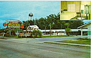 Rainbow Motel Callahan FL Postcard p30175 (Image1)