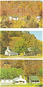 Kentucky Mission Centers Postcards Lot of 5 p3017 (Image1)