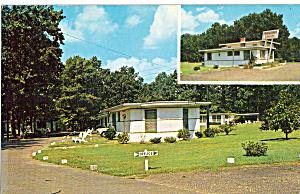 Bowling Green Lodges Penola VA Postcard p30183 (Image1)