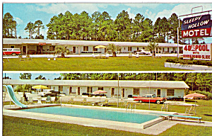 Sleepy Hollow Motel, Starke, FL, Cars 1950s (Image1)