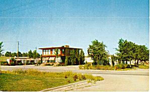 Jensens Pine View Motel Rapid City SD Postcard p30201 (Image1)
