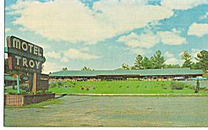 Motel Troy Troy Alabama Cars 1950s p30203 (Image1)