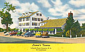 Lamies Tavern Hampton NH p30205 Cars 1940s 50s (Image1)