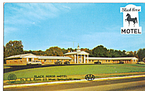Black Horse Motel West Springfield Ma Cars 1940s 50s P30219