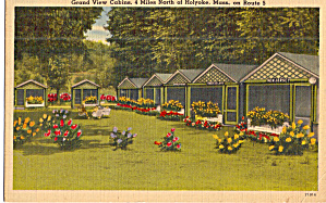 Grandview Cabins Holyoke MA Postcard p30220 (Image1)