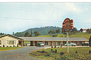 Sunset Motel Bristol Tn Cars 1950s P30222