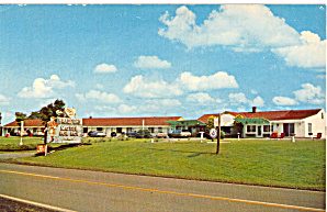 Bradford Motel Rob Roy Clairville OH Cars 1960s p30228 (Image1)