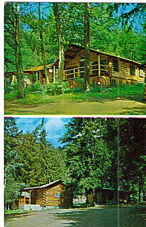 Elephant Head Lodge Cody Wapiti WY Postcard p30243 (Image1)
