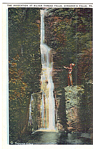 Silver Thread Falls, Dingmans Falls, PA (Image1)