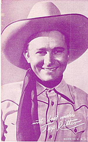 Tex Ritter Arcade Card p30283 (Image1)