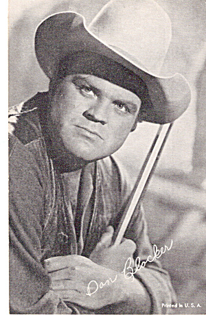 Dan Blocker Arcade Card P30285