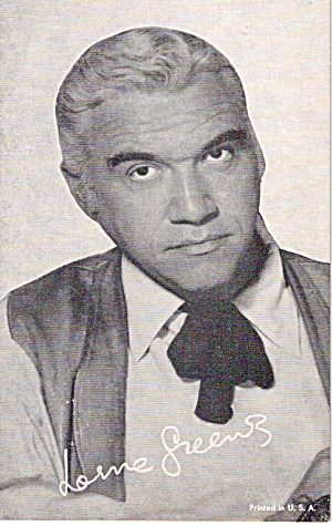 Lorne Greene Arcade Card P30286