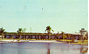 Laurel Motel Lake Wales Fl Postcard P30301