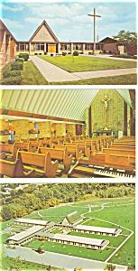 Detroit  MI Chapel of St Paul Postcard p3031  Lot 3 (Image1)