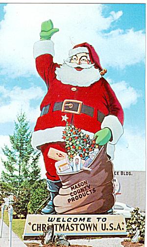 Santa Statue Shelton WA Christmastown USA p30335 (Image1)