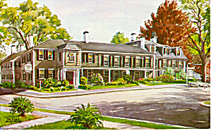 Colonial Inn Concord MA Postcard p30344 (Image1)