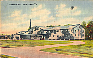 Service Club Camp Pickett VA p30346 (Image1)