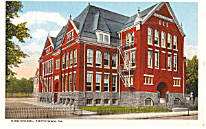High School  Pottstown PA  p30389 (Image1)