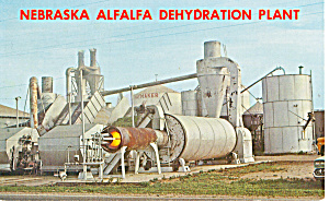 Nebraska Alfalfa Dehydration Plant Postcard p30393 (Image1)