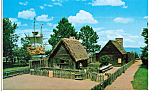 Replica Houses at  Plimouth Plantation (Image1)