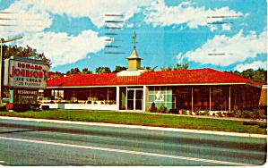 Howard Johnson s Restaurant 28 Flavors Postcard p30398 (Image1)
