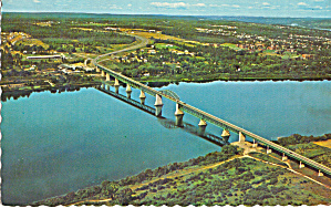 Princess Margaret Bridge, Fredericton, New Brunswick (Image1)