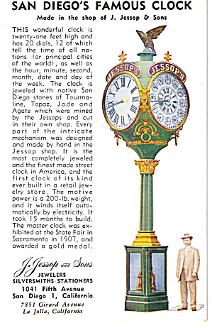 San Diego s Famous Clock (Image1)