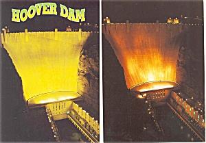 Hoover Dam Postcard  Lot 4 p3042 (Image1)