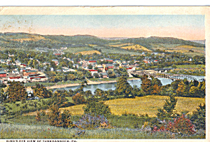 Birds Eye View of Tunkhannock, PA (Image1)