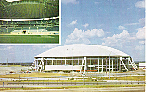 Texas Stadium, Home Of The Dallas Cowboys