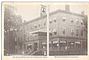 The Present Wolfe Tavern Newburyport  MA p30459 (Image1)