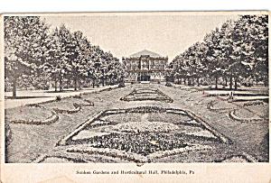 Sunken Gardens Horticultural Hall Philadelphia,PA p30465 (Image1)