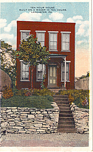 Ten Hour House, Lancaster, PA Built in Ten Hous on a Wager (Image1)