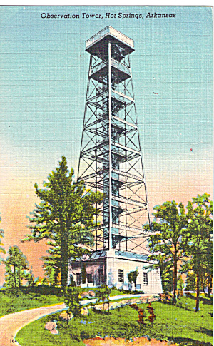 Observation Tower Hot Springs AR p30553 (Image1)
