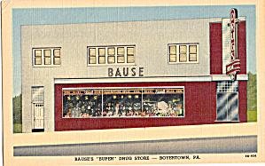 Bause Super Drug Store Boyertown PA p30564 (Image1)