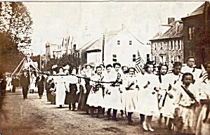 Graduating Class of Girls Postcard (Image1)
