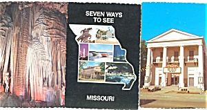 Views of Missouri  Postcard  Lot 5 (Image1)